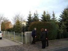 Erste Besichtigung des Grundstücks Vor den Toren zur grünen Hölle? [23.02.2008] Grundstück