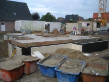 Die Kellerdecke ist fertig  [16.06.2009] Keller