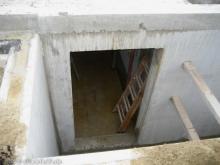 Erster Blick in den Keller
