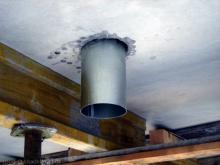 Systeme zur kontrollierten Wohnungslüftung mit Wärmerückgewinnung Deckenauslass für das Lüftungssystem [01.07.2009] Erdgeschoss