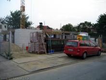 Stahlarmierung für die Erdgeschossdecke  [30.06.2009] Erdgeschoss