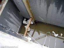 Leider nicht viel geschafft! Nein kein Schwimmbad, sondern der Schacht für die Kellertreppe [13.07.2009] Obergeschoss