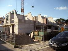 Die Maurerarbeiten im Obergeschoss sind abgeschlossen  [17.07.2009] Obergeschoss