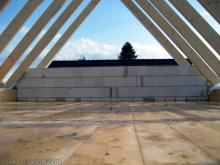 Blick in das Dachgeschoss  [31.07.2009] Dachstuhl