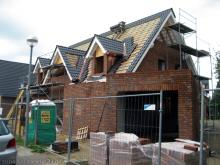 Wieder sind ein paar Dachziegel mehr auf dem Dach  [07.09.2009] Dachstuhl