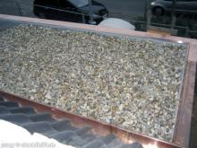 Das Flachdach auf Garage und Hauswirtschaftsraum ist fertig Dach auf dem Hauswirtschaftsraum [16.09.2009] Garage