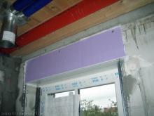 Alle Rollladenkästen sind eingebaut Rollladenkasten im Bad [08.10.2009] Fenster