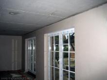 Alle Rollladenkästen sind eingebaut Rollladenkasten im Wohnzimmer unter Putz [08.10.2009] Fenster