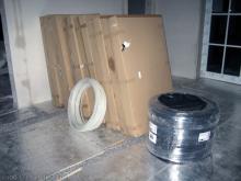 Die Estrichleger bereiten die Böden vor Materialien für die Fußbodenheizung [20.10.2009] Fußboden