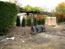 Die Hecke zum Nachbarn ist weg  [03.11.2009] Garten- und Außenanlagen