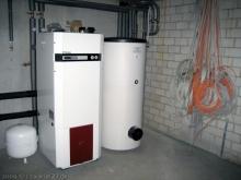 Bohrlöcher für die vertikalen Erdwärmesonden werden gebohrt Erdwäreheizung [09.11.2009] Heizung