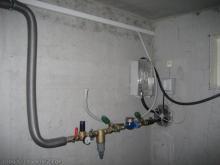 Hausanschlüsse: Wasser, Strom und Telefon  [17.11.2009] Installation