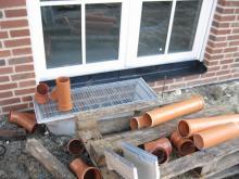 Pflasterarbeiten haben begonnen  [23.11.2009] Garten- und Außenanlagen
