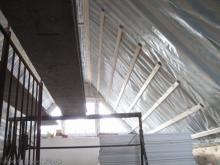 Spitzboden wird ausgebaut  [24.11.2009] Trockenausbau