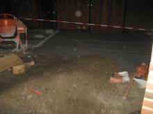 Pflasterarbeiten an der Auffahrt  [02.12.2009] Garten- und Außenanlagen
