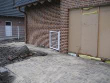 Pflasterarbeiten sind abgeschlossen  [31.12.2009] Garten- und Außenanlagen