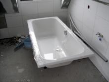 Die Badewanne...