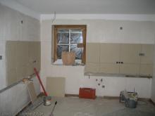Fliesenspiegel in der Küche
