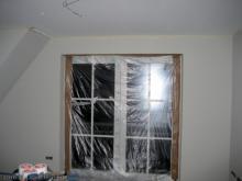Wände im Obergeschoss wurden gestrichen  [15.01.2010] Malerarbeiten