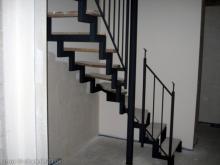 Treppengeländer zum Dachspitz
