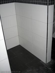 Bodenfliesen im Badezimmer Boden in der Dusche [21.01.2010] Fliesen