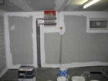 Die Kellerräume werden gestrichen Technik-Raum [22.01.2010] Malerarbeiten