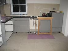 Die Küche wird eingebaut  [29.01.2010] Küche