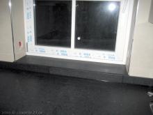 Die Arbeitsplatte ist versiegelt Arbeitsplatte als Fensterbank [02.02.2010] Küche