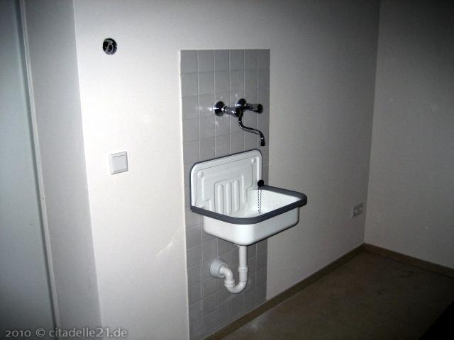 die ersten waschbecken wurden montiert citadelle21de. Black Bedroom Furniture Sets. Home Design Ideas