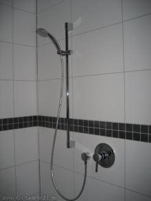 Sanitäranlagen im Badezimmer sind fertig Dusche [05.02.2010] Sanitärtechnik