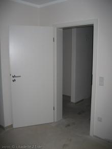 Die Innentüren sind drin  [09.02.2010] Türen